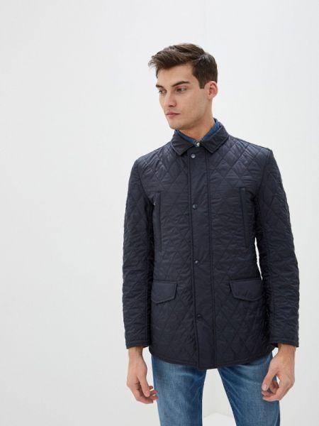 Теплая синяя утепленная куртка Henderson