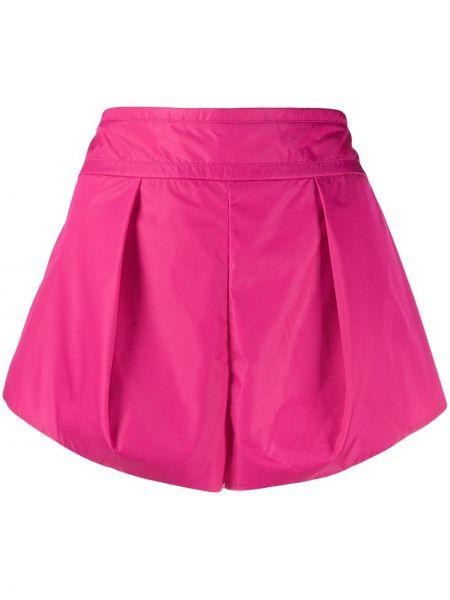Спортивные шорты с завышенной талией розовый No Ka 'oi