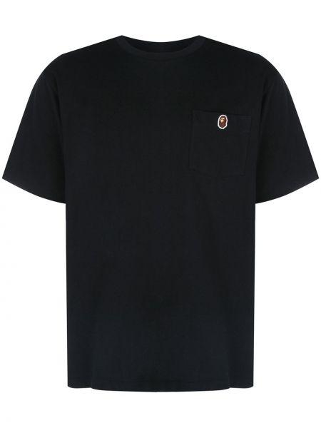 Koszula krótkie z krótkim rękawem z nadrukiem z kieszeniami Bape