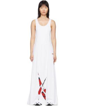 Платье макси с воротником Reebok By Pyer Moss