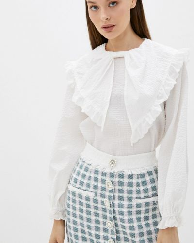 Блузка с длинными рукавами - белая Sister Jane