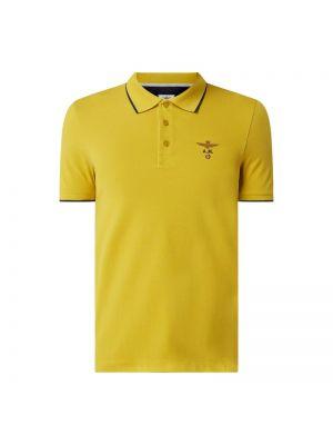 T-shirt bawełniana - żółta Aeronautica Militare