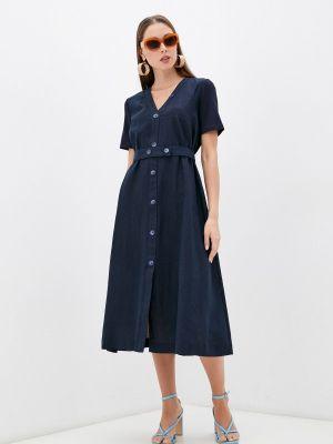 Синее повседневное платье Helmidge