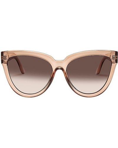 Beżowe okulary Le Specs