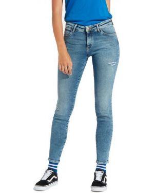 Mom jeans bawełniane Wrangler