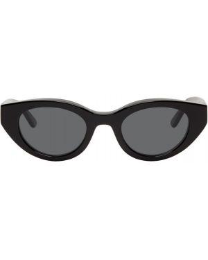 Черные солнцезащитные очки с завязками с тиснением Thierry Lasry