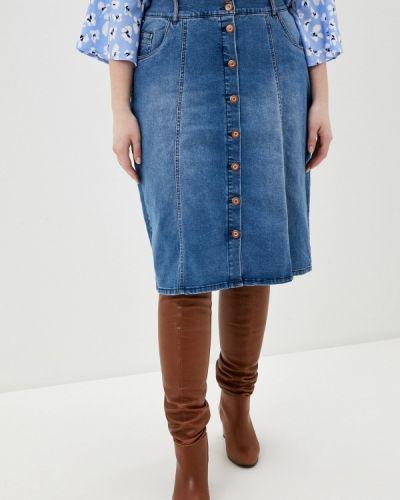 Джинсовая юбка Ulla Popken