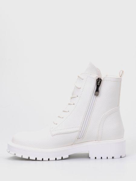 Ботильоны на шнуровке - белые Betsy