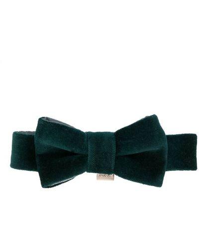 Хлопковый зеленый с бабочкой галстук La Stupenderia