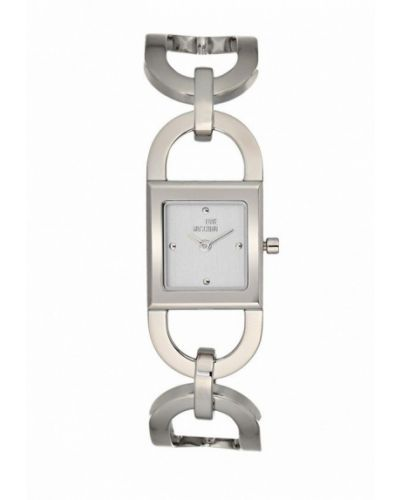 Кварцевые часы серебряного цвета Moschino