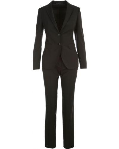 Czarny garnitur elegancki Tagliatore