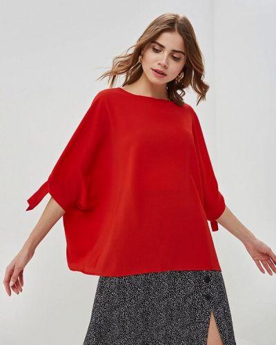 Блузка с длинным рукавом красная итальянский Perfect J