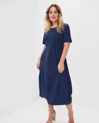 Синее платье весеннее Svesta