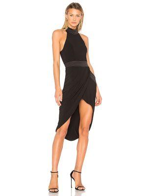 Czarna sukienka wieczorowa kopertowa Zhivago