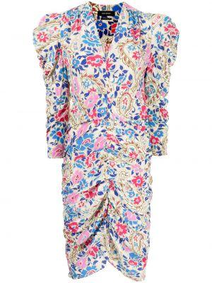 Sukienka w kwiaty - biała Isabel Marant