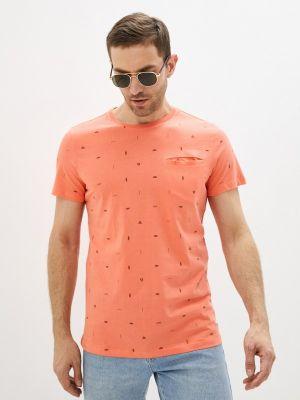 Красная футболка с короткими рукавами Brunotti