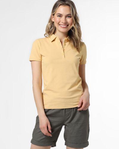 T-shirt - żółta Marie Lund
