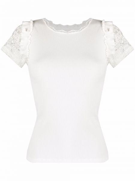 Белая рубашка с короткими рукавами Viktor & Rolf