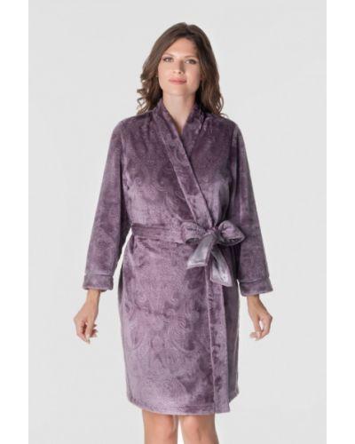 Фиолетовый домашний халат Komilfo