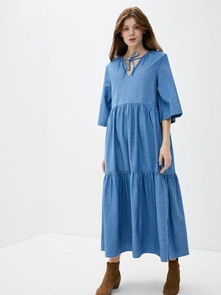 Джинсовое платье весеннее Selected Femme