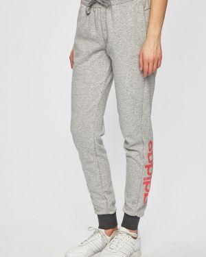 Спортивные брюки на резинке с карманами Adidas Performance