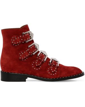 Ankle boots zamszowe klamry Givenchy