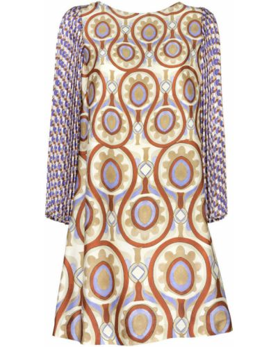Beżowa sukienka Maliparmi
