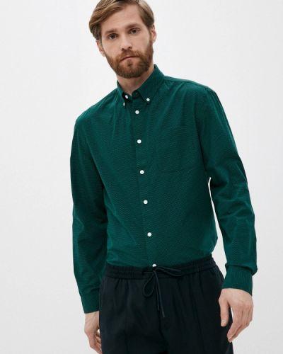 Зеленая рубашка с длинными рукавами Marks & Spencer