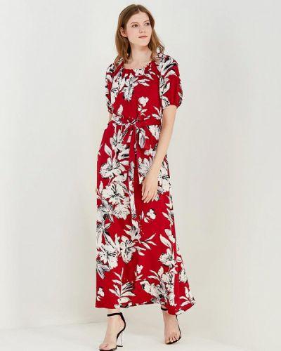 Красное платье весеннее Madam T