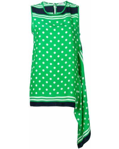 Топ в горошек зеленый P.a.r.o.s.h.