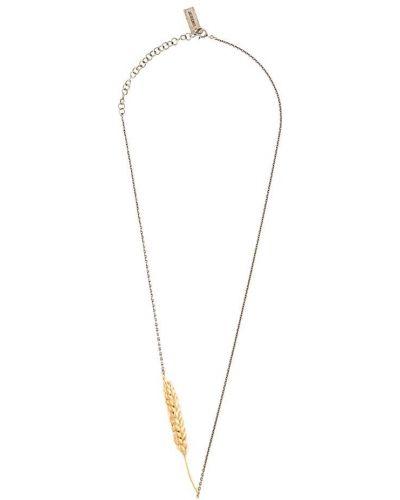Ожерелье из серебра золотой Jacquemus