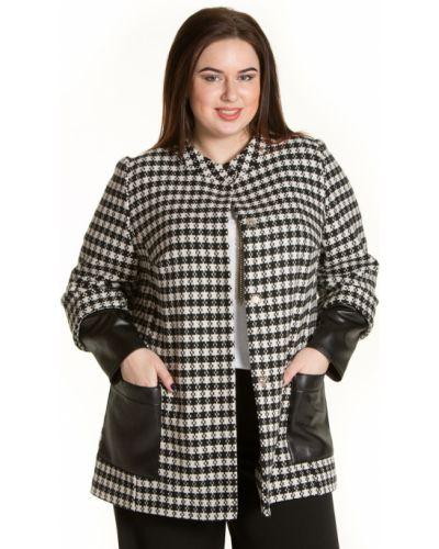Укороченное пальто на кнопках шерстяное Luxury