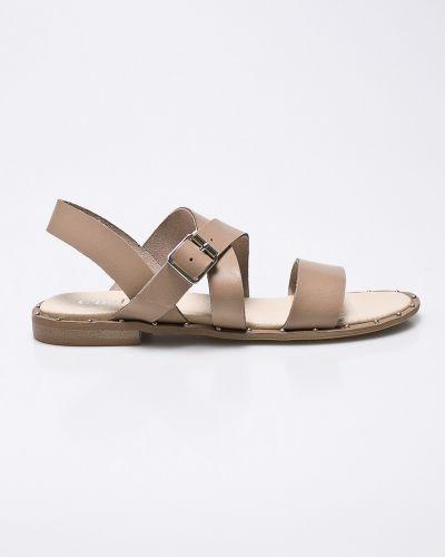 Бежевые сандалии кожаный Chebello