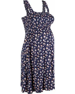 Летнее платье для беременных с цветочным принтом Bonprix