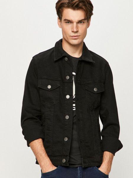Хлопковая джинсовая куртка - черная Jack & Jones