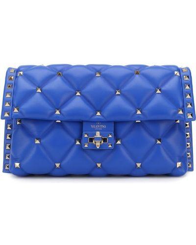 Синяя вечерняя сумка Valentino