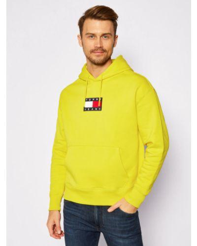 Bluza - żółta Tommy Jeans