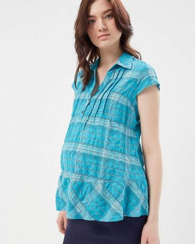 Бирюзовая блузка Mammysize
