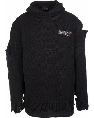Czarna bluza Balenciaga