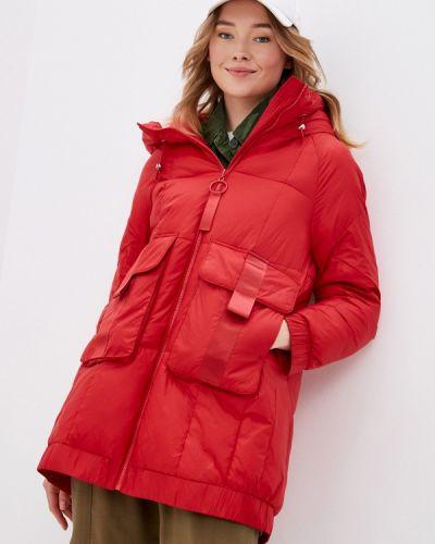 Красная теплая куртка Savage