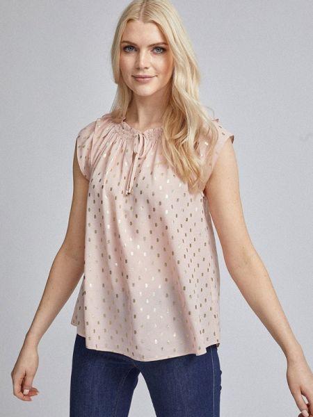 Розовая блузка с коротким рукавом Dorothy Perkins