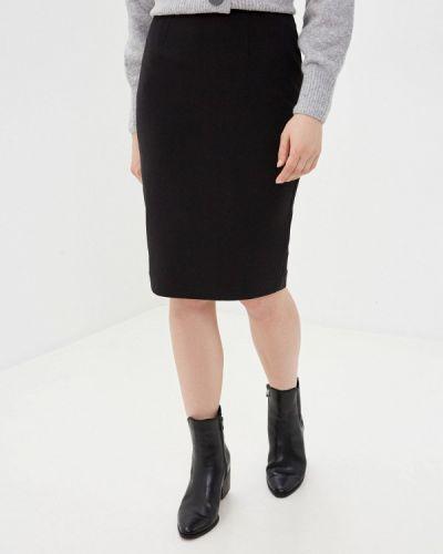 Черная прямая юбка карандаш Marks & Spencer