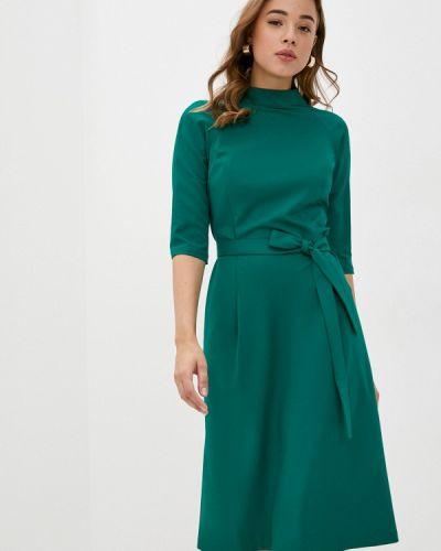 Прямое зеленое платье Mari Vera