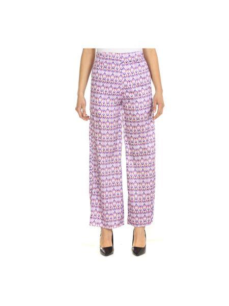 Fioletowe spodnie Jijil