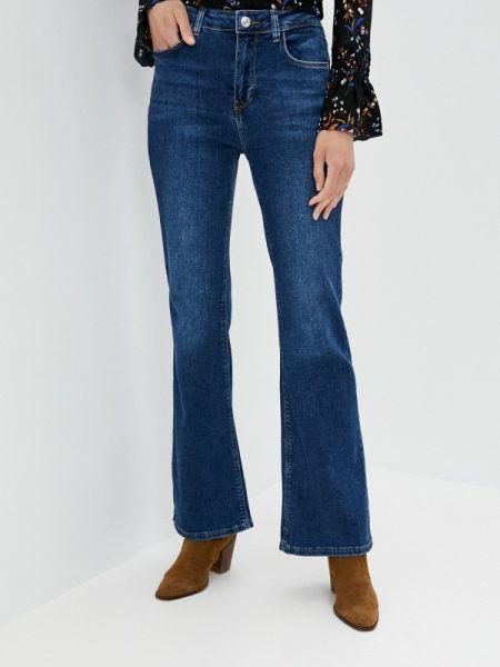 Широкие джинсы расклешенные синие Defacto