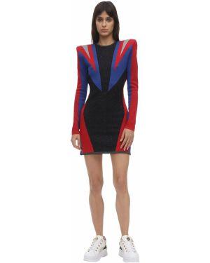 Платье макси через плечо приталенное Puma X Balmain