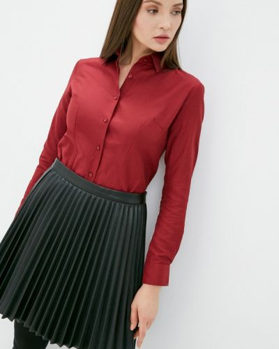 Красная рубашка с длинными рукавами Bawer