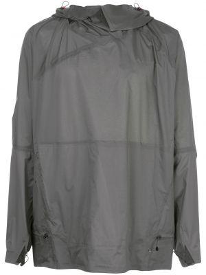 Куртка с капюшоном - зеленая Klättermusen