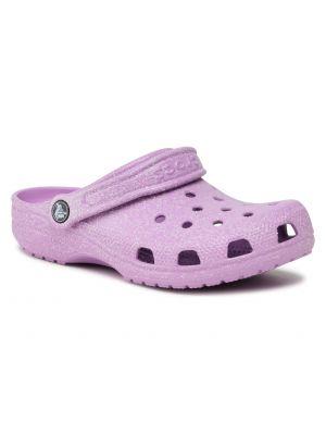 Klasyczne fioletowe chodaki Crocs