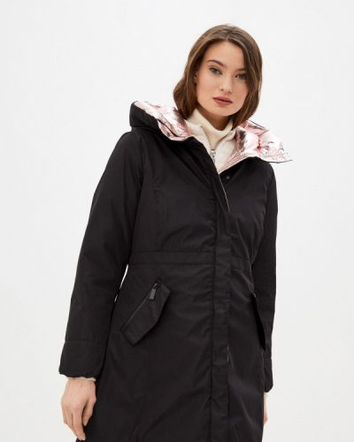 Утепленная черная куртка Tantra